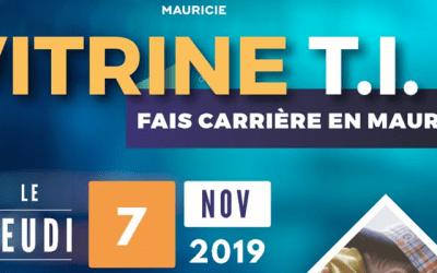 Vitrine TI – 3e édition (7 nov. 2019)