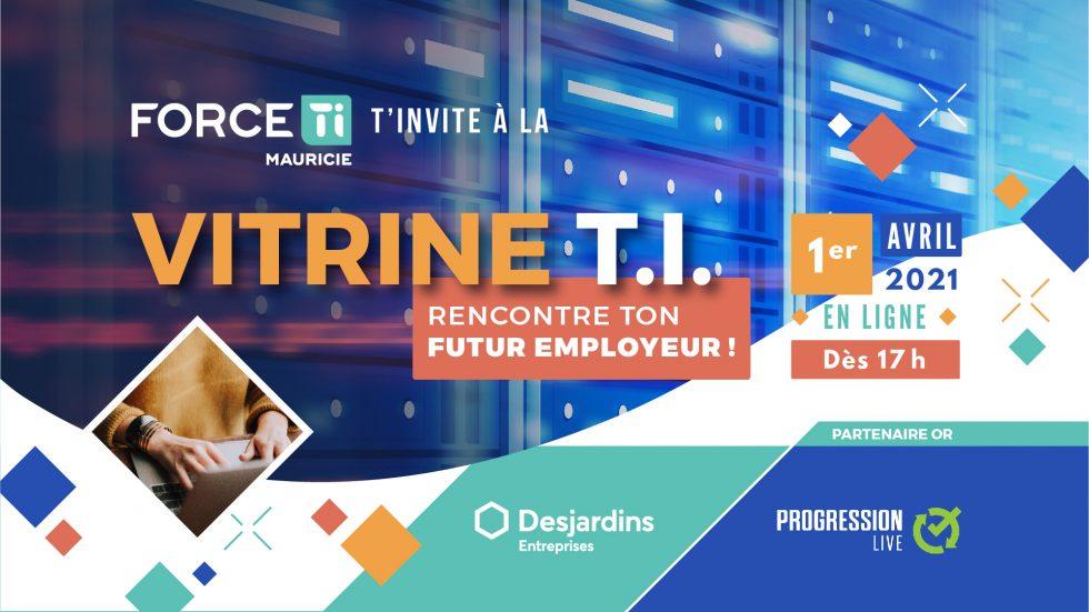 VITRINE TI 2021 – Rencontre ton futur employeur!
